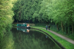 canal boat in Apsley