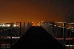 walkway over motorway